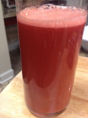 Tangy Herbed Purple Cabbage Juice