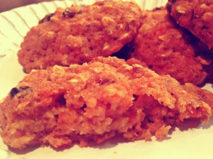 Carrot Oatmeal Raisin Biscuits