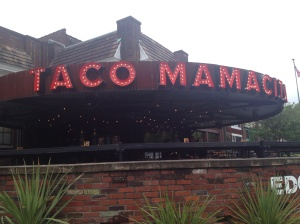Saturday post-race lunch at Taco Mamacita.  They have both a vegan and gluten-free menu woohoo!  And amazing guacamole :)